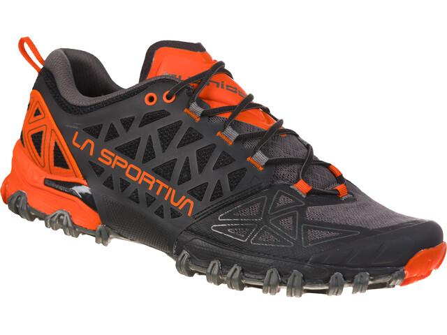 La Sportiva Bushido II Running Shoes Men carbon/tangerine
